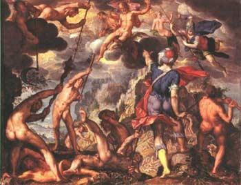 Fuerza hace camino  (Oda de Neoptolemo)